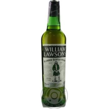 Виски William Lawson's 40% 0,7л - купить, цены на Novus - фото 1