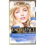 Color L'oreal Excellence cinereous for hair
