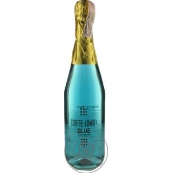 Вино ігристе Corte Lumo Blue Semi Dolce 10% 0,75л
