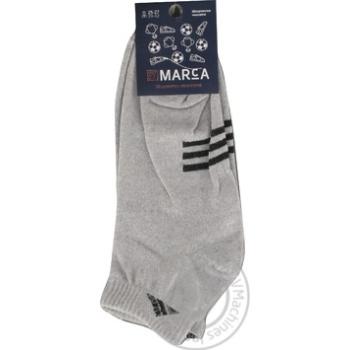 Шкарпетки Marca Premium чоловічі подвійний борт 25-27р - купити, ціни на Ашан - фото 1