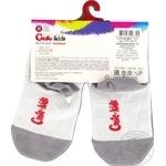 Шкарпетки дитячі Conte Kids веселі ніжки 17С-10СП, розмір 12, 335 світло-сірий - купити, ціни на Novus - фото 4