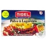 Восьминіг, запечений з картоплею, португальська кухня, готовий до вживання, NIGEL, пакет 400 г