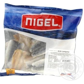 Філе сардини, NIGEL, пакет 1 кг - купить, цены на Novus - фото 1