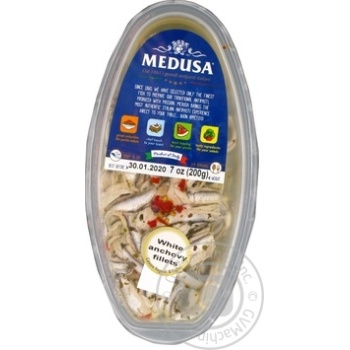 Fish anchovy Medusa pickled 200g