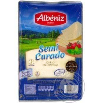 Сыр Albeniz полутвердый нарезанный 20% 80г