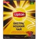Lipton strong black tea 100pcs*2g