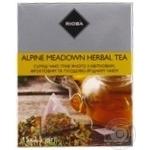 Смесь чая Rioba травяного с цветочным, фруктовым и плодово-ягодным в пакетиках-пирамидках 15*2,5г