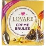 Чай черный Lovare Creme Brulee листовой байховый в пирамидках 15*2г - купить, цены на МегаМаркет - фото 3