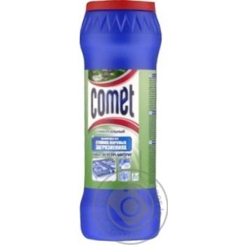 Порошок для чистки Comet Сосна с хлоринолом 475г - купить, цены на МегаМаркет - фото 1