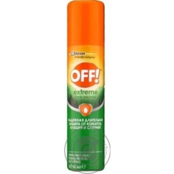 Спрей проти комарів OFF! Екстрім 100мл