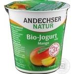 Йогурт Andechser Natur bio с кусочками манго 3,7% 150г
