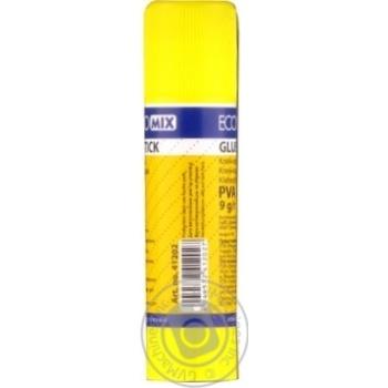 Клей-карандаш EconoMix PVA, 9г - купить, цены на Novus - фото 2