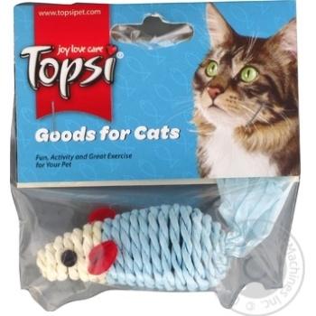 Игрушка Topsi для кошек 6см - купить, цены на Метро - фото 1