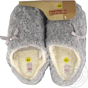 Обувь домашняя женская Gemelli Ася р.40