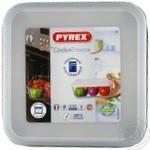 Форма с/к PYREX Cook&Freez форма з криш.скл.квадр. 20х20см 2л