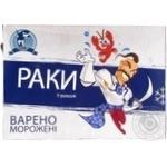 Раки Black Sea Union пресноводные варено-мороженые в рассоле 500г