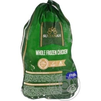Тушка цыпленка-бройлера Sultanah первый сорт замороженная 1,1кг