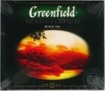 Greenfield Golden Ceylon black tea 50pcs 100g