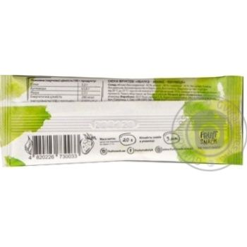 Fruit Snack Mix Apple-Strawberry-Pineapple Sugar-Free Fruit Snack 20g - buy, prices for Auchan - photo 2