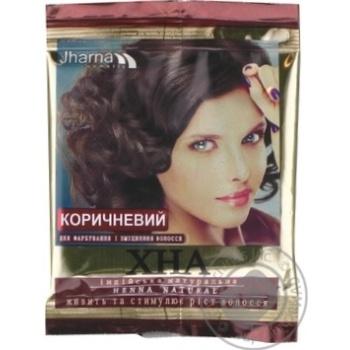 Хна аюрведична Jharna коричнева 25г х12 - купить, цены на МегаМаркет - фото 1