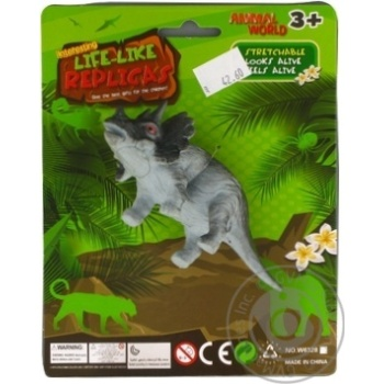 Qunxing Toys Rhinoceros Toffee Toy - buy, prices for MegaMarket - image 1