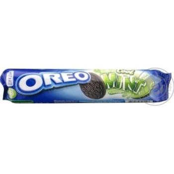 Cookies Oreo with cocoa 154g - buy, prices for Novus - image 1