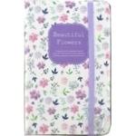 Malevaro Beautiful Flowers Notebook 14x9m 80 Sheets