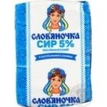 Slovianochka Cottage Cheese 5% 202g