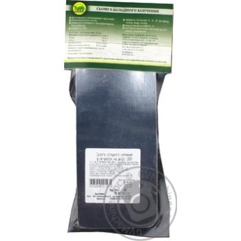 Сьомга К.І.Т холодного копчення шматок зі шкурою вакуумна упаковка 180г - купити, ціни на Ашан - фото 3