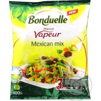 Суміш овочева Bonduelle Мексиканська на парі заморожена 400г - купити, ціни на Varus - фото 3