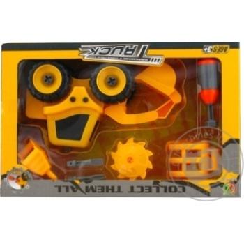 Набір трактор з аксесуарами Kaile Toys, розбірна модель з викруткою - купити, ціни на Novus - фото 3
