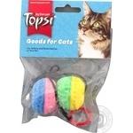 Мячи с колокольчиками Topsi для кошек 2шт