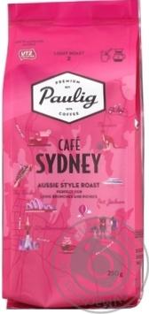 Скидка на Кофе Paulig Sydney молотый 250г
