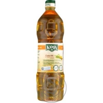 Олія Кама кукурудзяна рафінована дезодорована 1000мл
