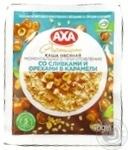 Каша овсяная Axa Premium моментального приготовления со сливками и орехами в карамели 40г