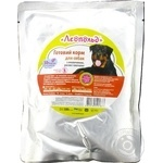 Leopold Meat Wet Food with Beef, Rice and Vegetables for Dogs 500g