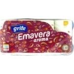 Папір туалетний ароматизований Grite Emavera aroma 8шт