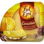Сыр Fol Epi Caractere выдержанный нарезка 130г - купить, цены на Восторг - фото 1