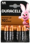 Duracell AA 1,5V LR06 Battery 4pcs