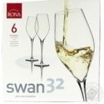 Набор бокалов Rona Swan для шампанского 6шт 320мл