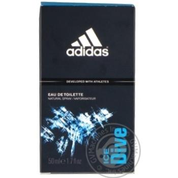 Eau de toilette Adidas Ice drive for man 50ml - buy, prices for Novus - image 1