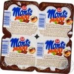 Десерт молочный Zott Monte Maxi с шоколадом и лесными орехами 13,3% 100г