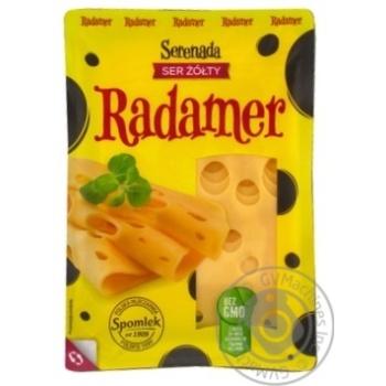Сыр Spomlek Радамер твердый нарезанный 45% 150г