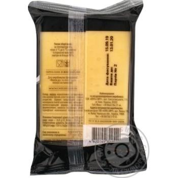 Сыр Клуб сиру Сметанковый 45% 185г - купить, цены на Novus - фото 2