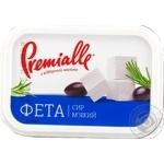 Сыр фета Premialle мягкий рассольный 45% 250г