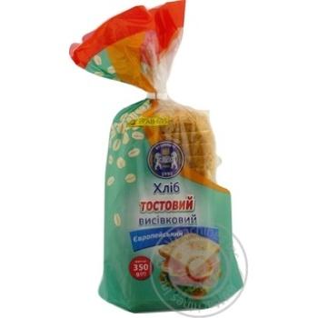 Хлеб тостовый Кулиничи Европейский отрубной 350г