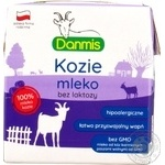 Молоко Danmis козье безлактозное 2,5% 500мл