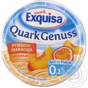 Десерт творожный Exquisa Персик-маракуйя 0,2% 500г - купить, цены на Фуршет - фото 2