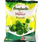 Капуста брокколи на пару Bonduelle замороженная 400г - купить, цены на Ашан - фото 2