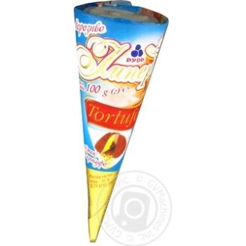 Морозиво Рудь Імперія Ріжок Tortufo 100г - купити, ціни на Фуршет - фото 7